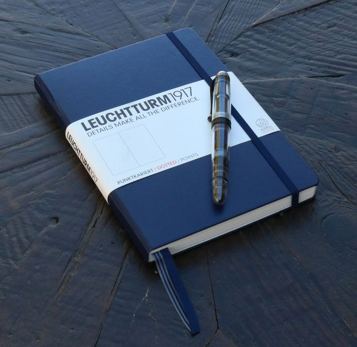 Read about the Leuchturm 1917 notebook before you buy. See why the Leuchturm1917 notebooks are fountain pen friendly and a must have!
