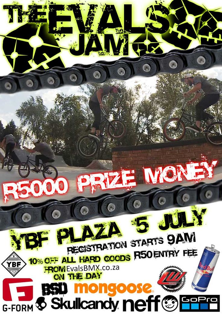 [interview] The EVALS JAM - 5th July 2014 - YBF Plaza - WHO IS EVALS BMX? http://mixedapples.co.za/interview-the-evals-jam-5th-july-2014-ybf-plaza-who-is-evals-bmx