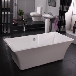 stand alone tub