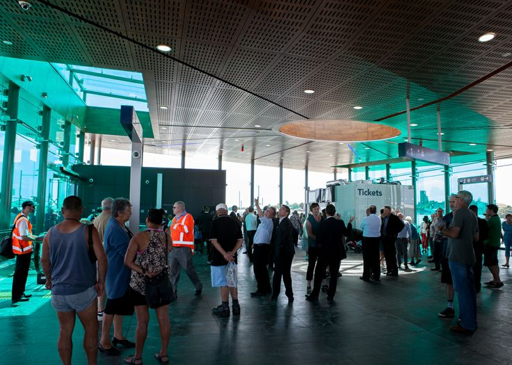 Official opening day for the new AMETI project in Panmuare Auckland - an Opus Architecture designed project
