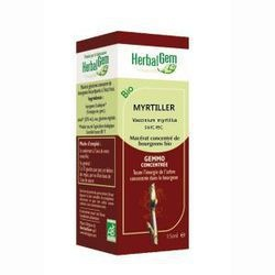 Myrtillier Bio bourgeon Herbalgem - Assimilation du sucre