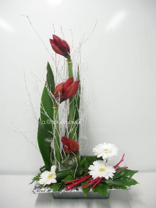 1000 id es propos de compositions florales modernes sur pinterest compositions florales. Black Bedroom Furniture Sets. Home Design Ideas