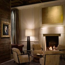 Designing A Fireplace The Public Hotel Chicago Ian Schrager