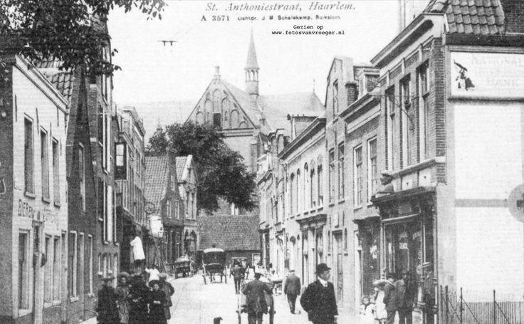 Antoniestraat Haarlem (jaartal: 1900 tot 1910) - Foto's SERC