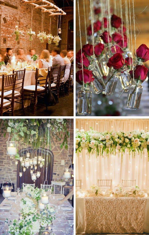 66 best hanging wedding decorations images on pinterest themed 5 head table wedding decoration ideas junglespirit Gallery