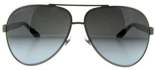 Gafas de sol Gucci Aviador, Marco de Rutenio Oscuro / Lente Gris Degradado 1951/S | Antes: $856,000.00, HOY: $468,000.00