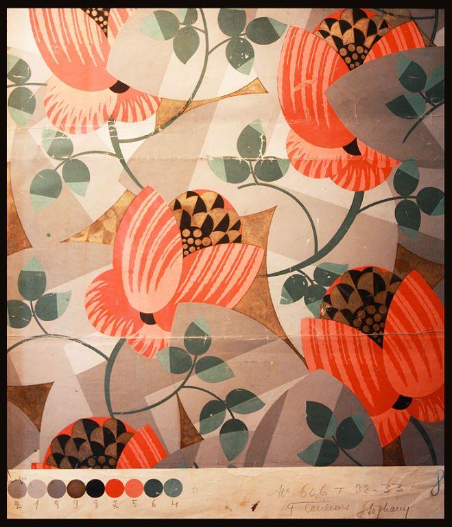 Art Deco Painting By H.Stephany / Ruhlmann 1932-1933