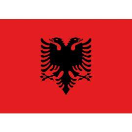 Albanische vlag 150x225