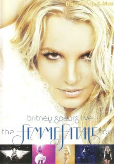 Discos Pop & Mas: Britney Spears - Live: The Femme Fatale Tour (DVD)...