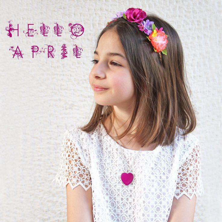 Hello April! 🌸