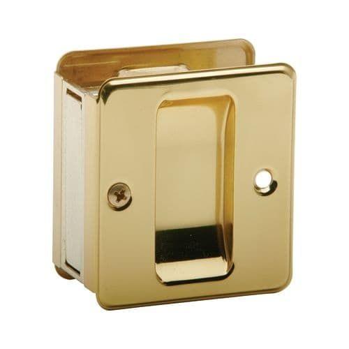 Schlage 990 1-3/4-Inch x 2-1/4-Inch Passage Pocket Door Pull (Oil rubbed bronze)