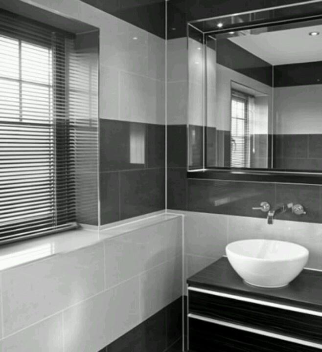 33 best images about bathroom remodel ideas on pinterest for Master bathroom grey tile