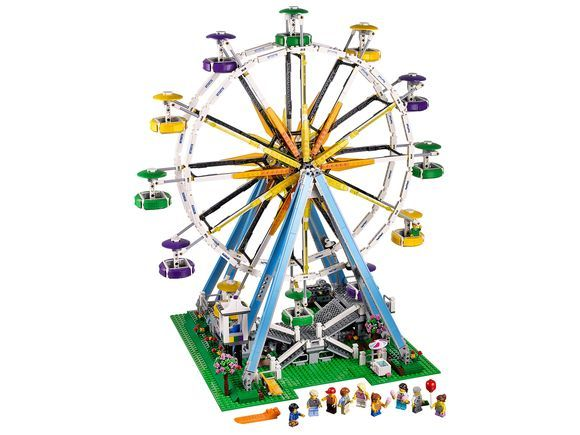 LEGO® Creator Expert model has an iconic elegance that evokes feelings of nostalgia, romance and adventure. The carnival has come to town and the ice cr...
