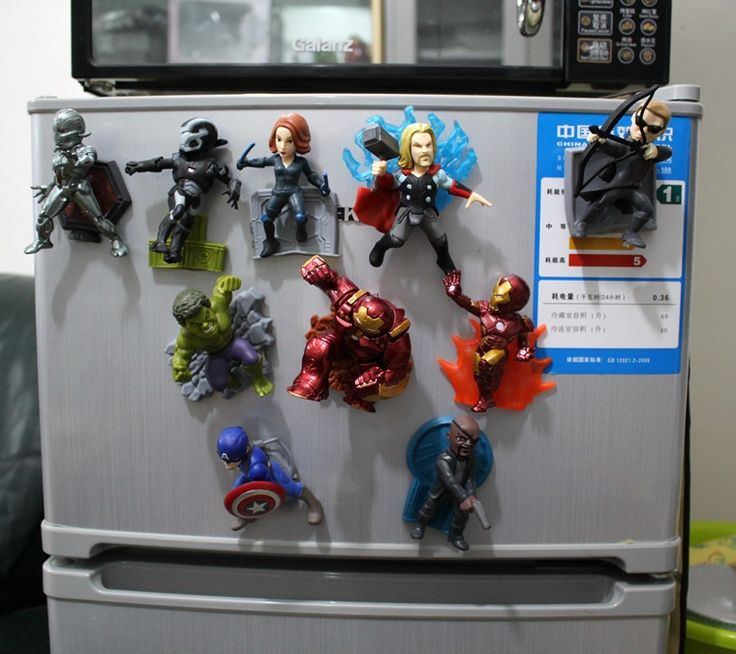 (27.25$)  Watch now  - The Avengers 2 models Captain America iron man Thor Hulk Avengers action figures 10 pieces one set toys figures