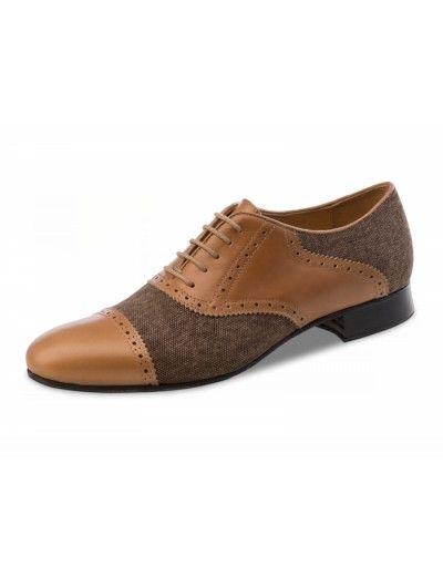 Chaussures de danse, Tadil Nueva Epoca en cuir brun
