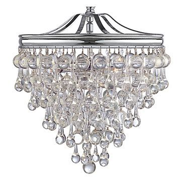 "Design Description:  Hanging Chandelier to go Over Dinner Table  Product Info:  Z Gallerie - Alexia Chandelier - 12""W x 15.5""H"