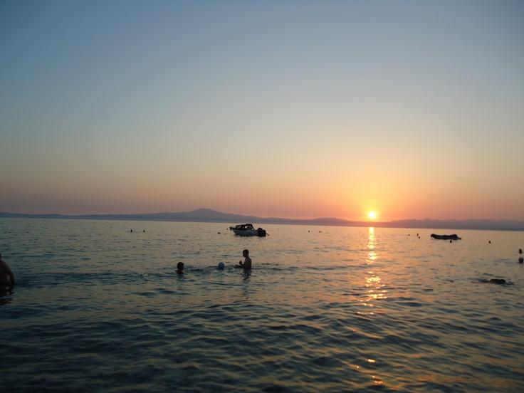 coucher du soleil a Avia