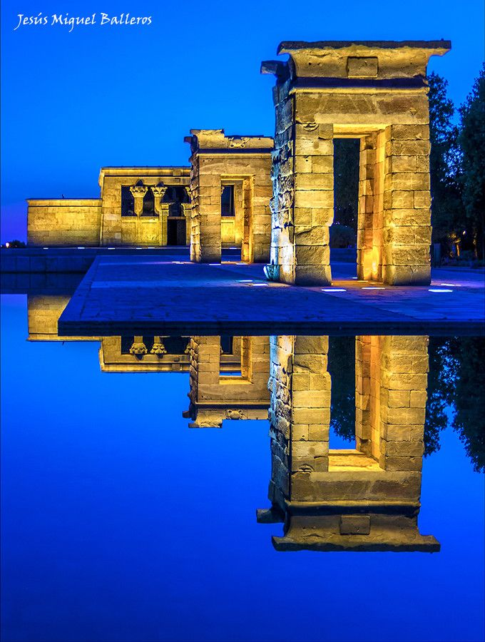 Templo Debod, (Madrid, Spain), by Jesus Miguel Balleros on 500px
