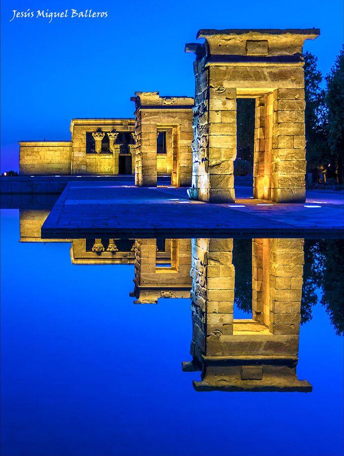 Templo Debod, (Madrid, Spain), by Jesus Miguel Balleros on 500px
