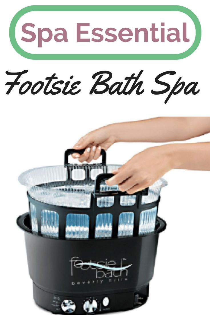"I've had the same one for 6 years!!! AD- Footsie Bath Plus includes the Footsie Bath Spa, 10 disposable liners and a carrier tray to equip you with everything you need to deliver the perfect spa experience. Features a 6"" deep basin and four control settings: heat and vibrate, heat only, vibrate only and off for a soothing, therapeutic soak. The convenient all-in-one package is ultra-lightweight, durable and requires no installation or plumbing."