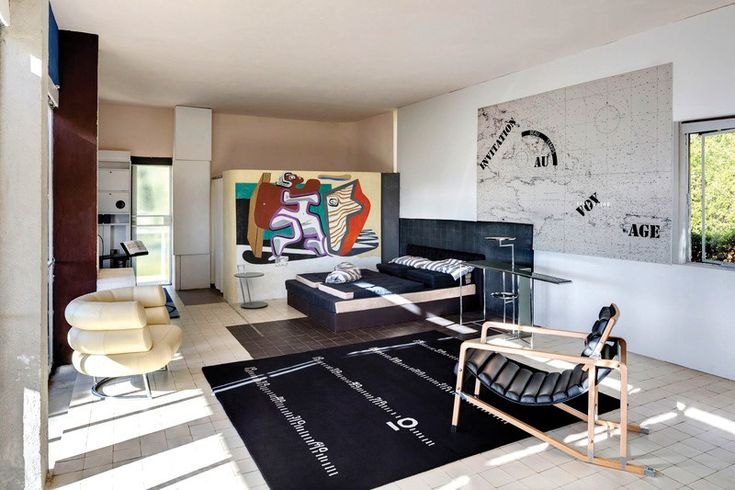 Restoring Eileen Gray's E-1027: Gray's seaside retreat survived Le Corbusier's act of vandalism and decades of neglect. Now this midcentury icon shines again. #Architecture #Design #Article