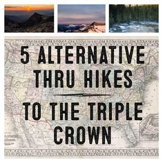 Everyone has heard of the AT, PCT and the CDT, but what other epic thru hikes exist? Here are 5 awe inspiring thru hikes you'll want to check out!