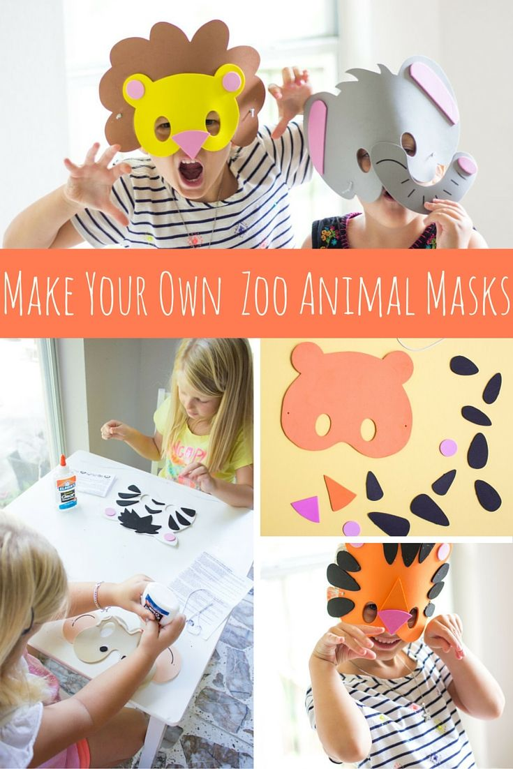 Oriental trading christian crafts - Kids Will Have A Blast Making These Pre Cut Foam Animal Masks See The
