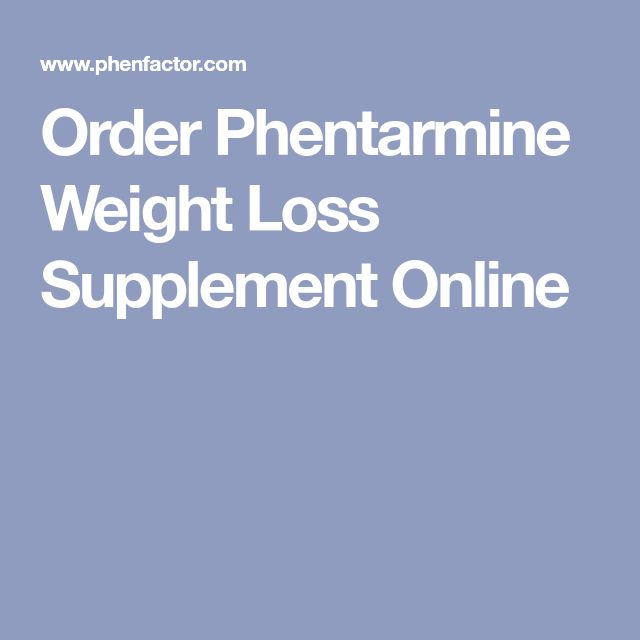 Order Phentarmine Weight Loss Supplement Online