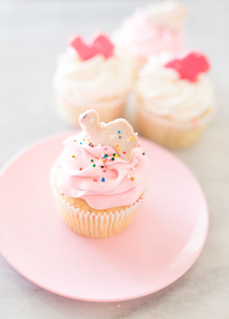 I'm starting to realize that all of our posts are PINK! I apologize in advance for this. You guys must think I am a real pinkaholic over here. You just might be right! ;) In addition to loving pink, I've also never met a cupcake I didn't like. ;) Do you remember being a little …