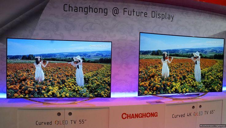 IFA 2014 – Des TV Oled Full HD et UHD/4K chez Changhong