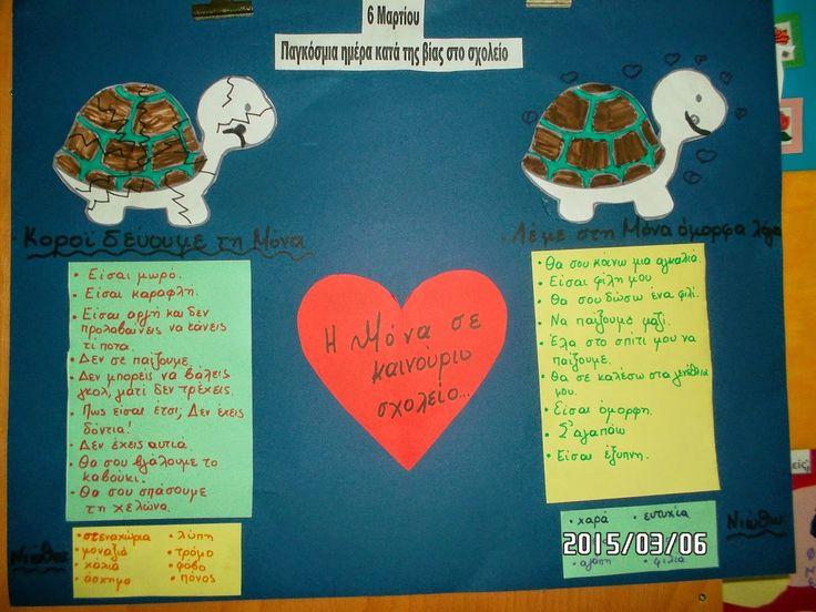 Νηπιαγωγείο Κοκκίνη Χάνι: 6 Μαρτίου- Παγκόσμια ημέρα κατά της βίας στο σχολείο