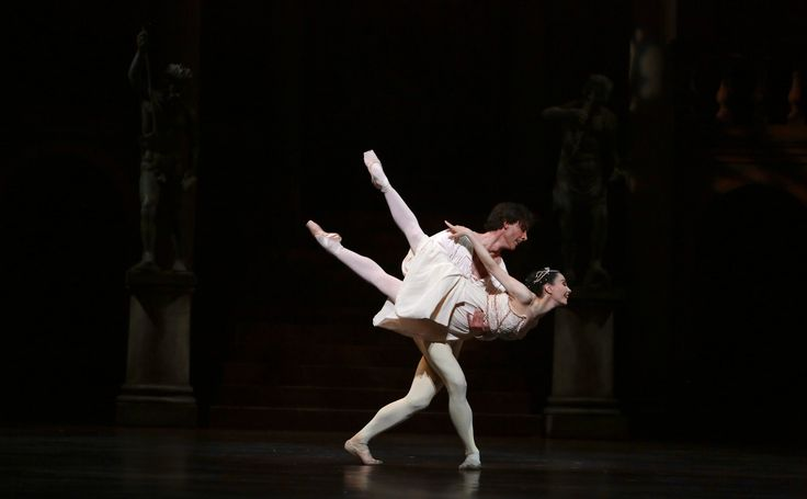 Queensland Ballet Principal Matthew Lawrence and Guest Star Tamara Rojo