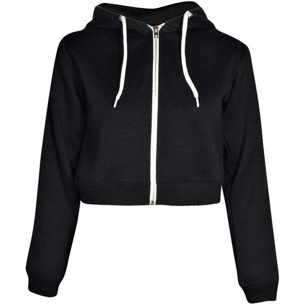 Boohoo Lorraine Crop Hoody ($20) ❤ liked on Polyvore featuring tops, hoodies, jackets, shirts, outerwear, crop top, sweatshirt hoodies, sleeve shirt, color block hoodie and color-block hoodie