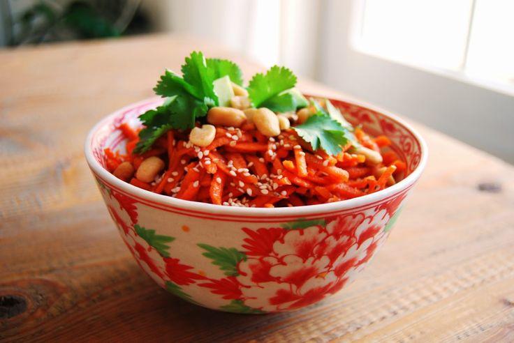 Sarah aan de Kook: Oosterse wortelsalade