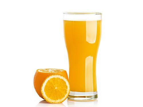 Fresh Orange Juice with Honey