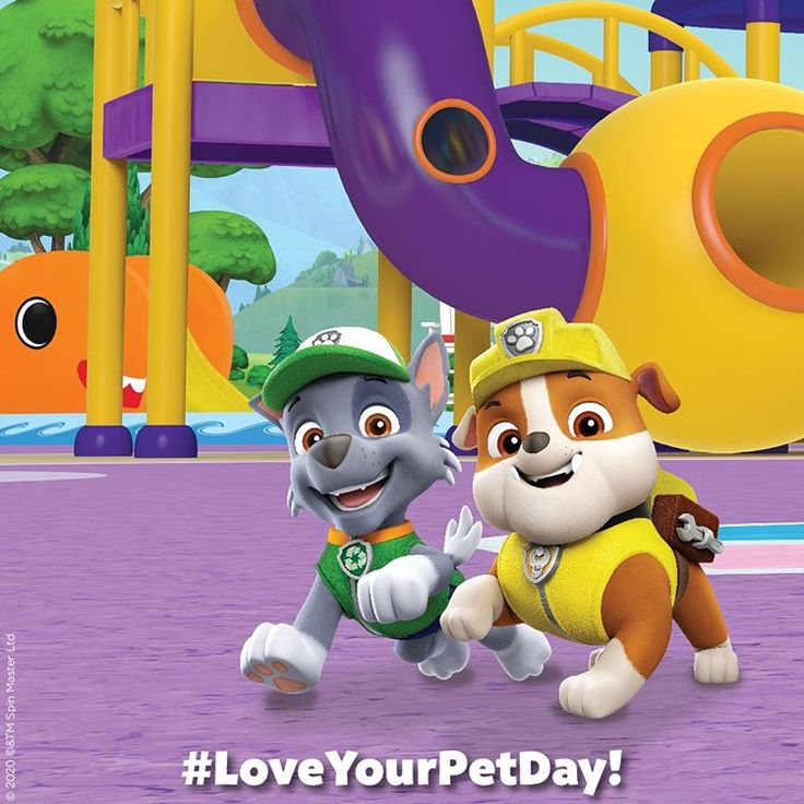 "PAW Patrol Live! on Instagram ""Happy National Love Your"