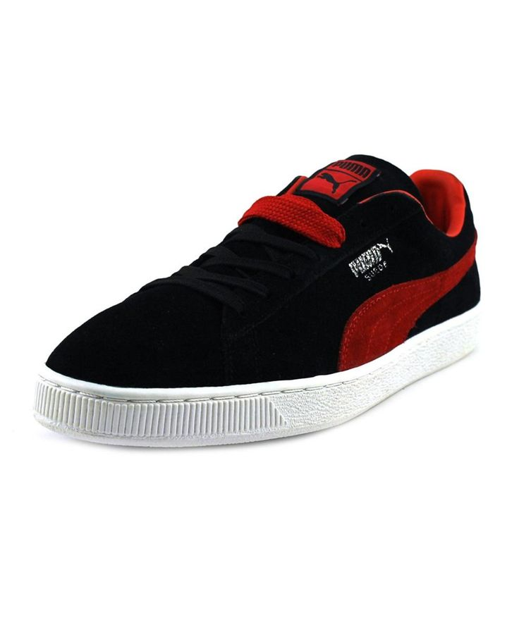 PUMA Puma Suede Classic Men  Round Toe Suede Black Sneakers'. #puma #shoes #sneakers