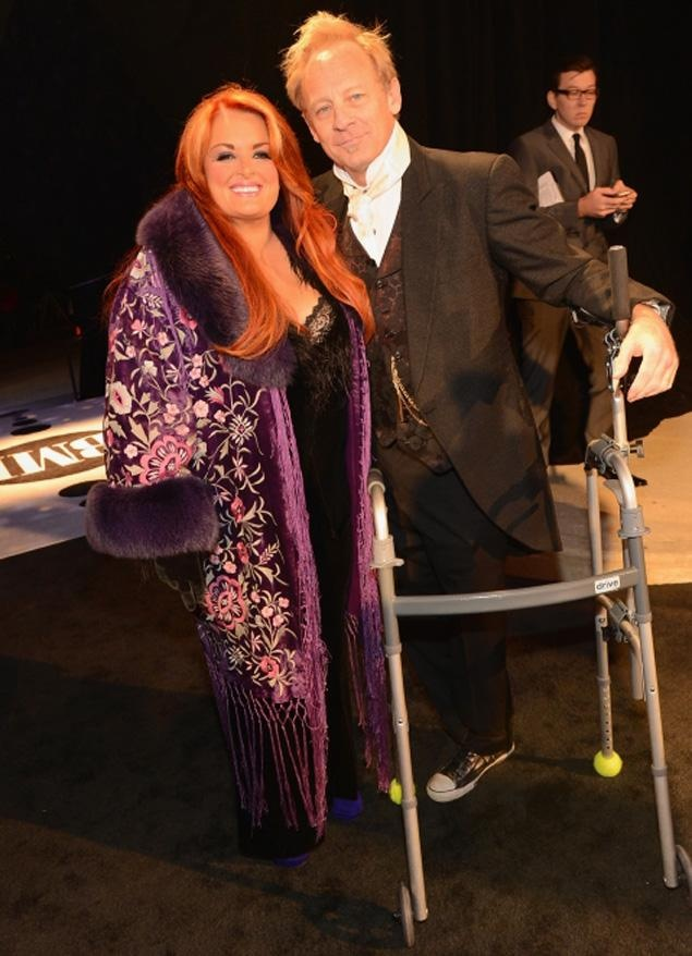 Wynonna Judds Husband Walking For First Time Since Motorcycle Accident