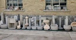fontane granito arredo giardino