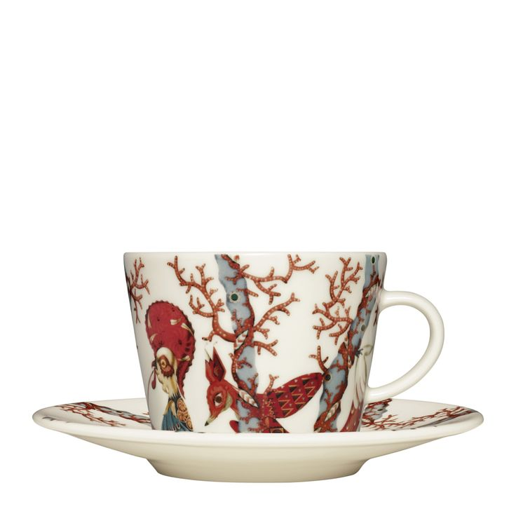 #Tanssi coffee #cup with #soucer, 0,2 l. x 15 cm.