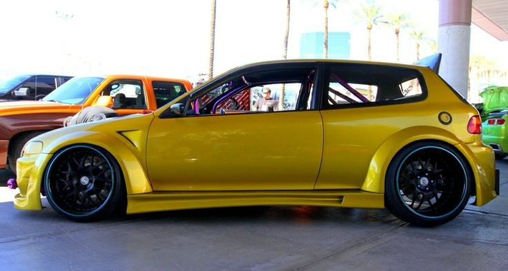 12 best images about project custom cars on pinterest for Honda civic customization ideas