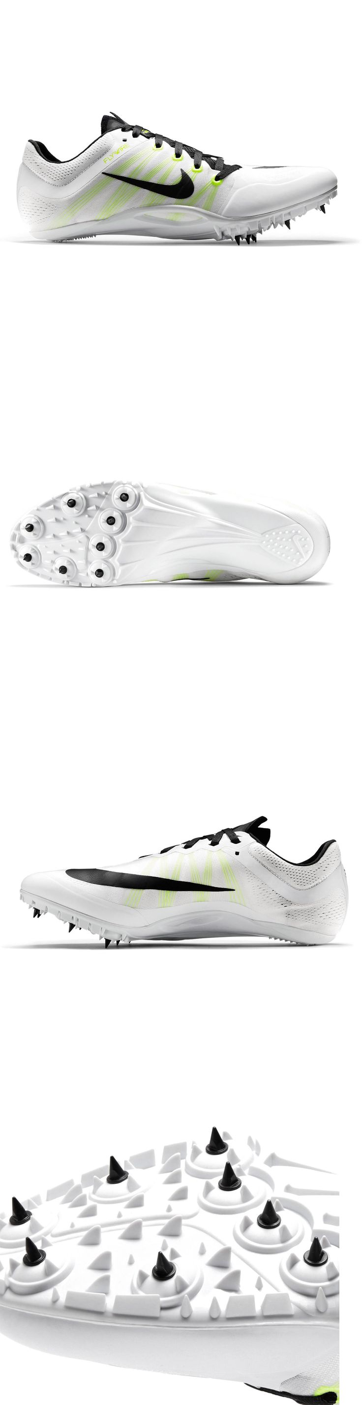 Track and Field 106981: New Nike Zoom Ja Fly 2 Ii Mens Track And Field Spikes Sprint Shoes : White Volt -> BUY IT NOW ONLY: $34.8 on eBay!
