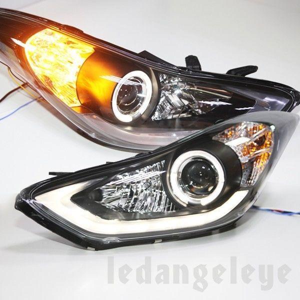 Hyundai Elantra Angel Eyes