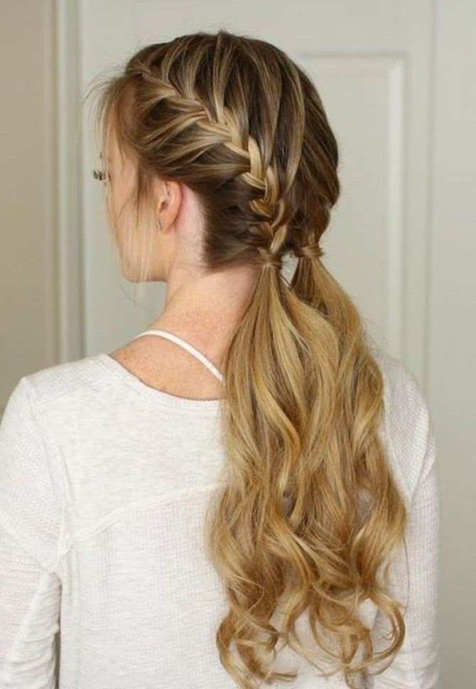 40 The Best French Braid Hairstyle Ideas Fashionmoe Peinados Poco Cabello Peinados Con Trenzas Peinados Para Cabello Largo