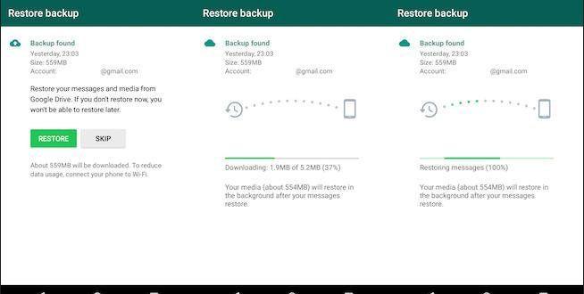 إجراء نسخ احتياطي في Google Drive هام بدءا من ١٢ تشرين الثاني نوفمبر ٢٠١٨ لن يع د النسخ الاحتياطي Messages Your Message Google Drive