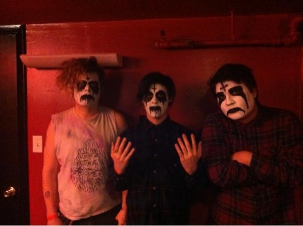 "WAVVES: ""Happy valentines from wavvesbroS. @Jacob McPherson Cooper doesn't look black metal he looks like sum chola named sad clown"""