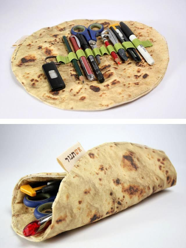 Tortilla pencil case