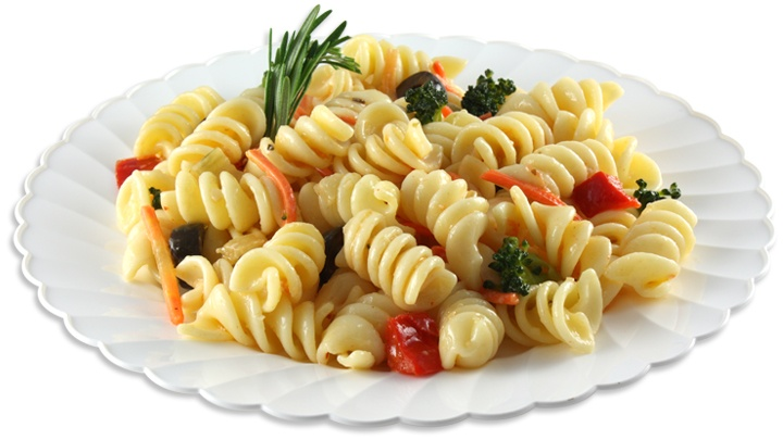 Twist Pasta Salad - Savor the array of sweet Red Bell Peppers, black ...