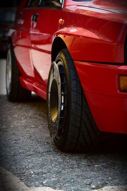 Lancia Delta HF - Turbo fans