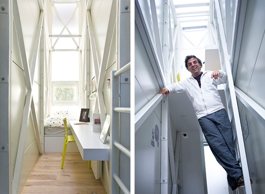 Самый узкий в мире дом — 122см